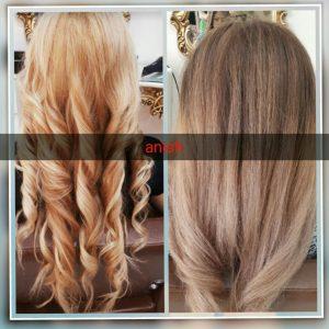 آموزش رنگ مو